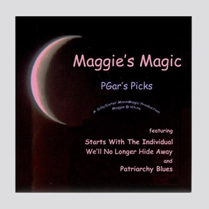 Maggie's Magic Tile Coaster