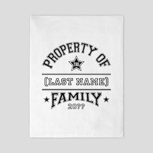 Family Property Twin Duvet