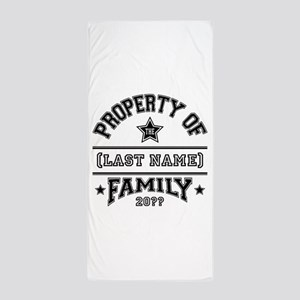 Family Property Beach Towel