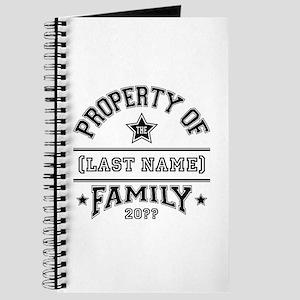 Family Property Journal