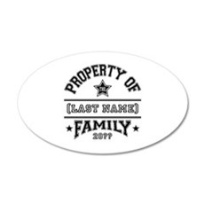 Family Property Wall Decal