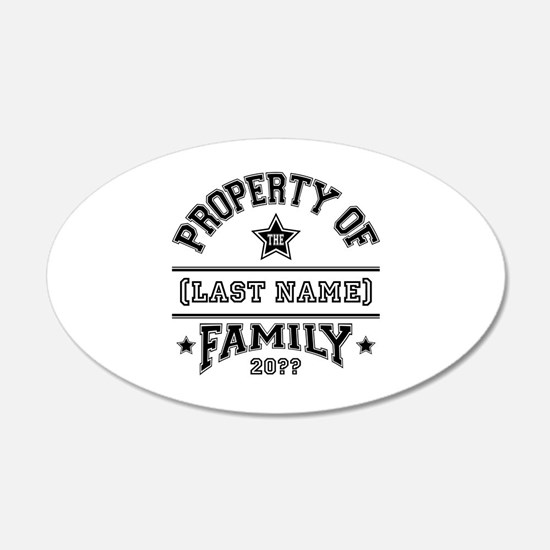Family Property Decal Wall Sticker