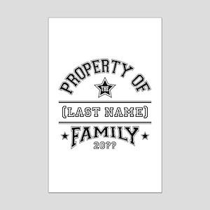 Family Property Mini Poster Print