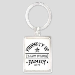 Family Property Portrait Keychain