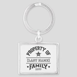 Family Property Landscape Keychain