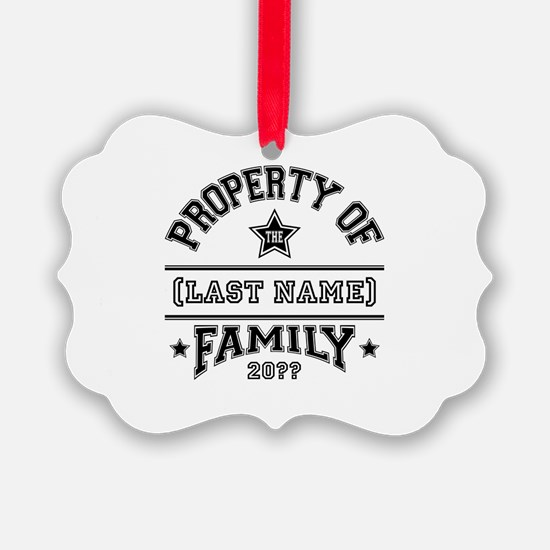 Family Property Ornament