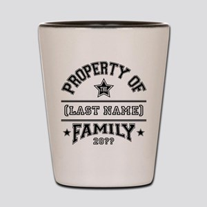 Family Property Shot Glass