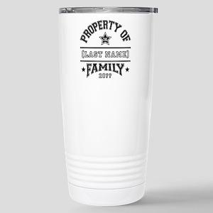 Family Property Stainless Steel Travel Mug