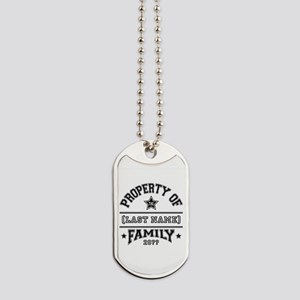 Family Property Dog Tags
