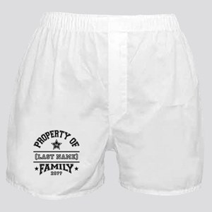 Family Property Boxer Shorts
