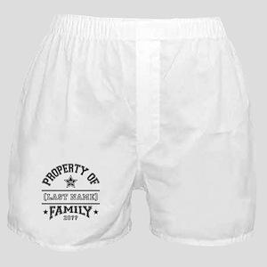 Family Property Boxer Shorts