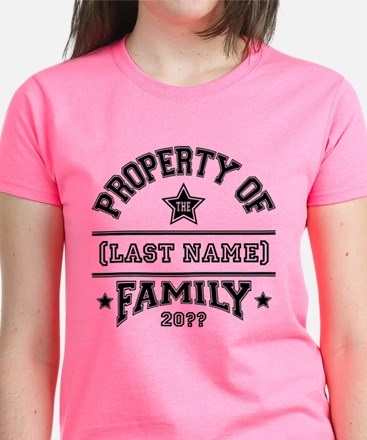 Family Property Women's Dark T-Shirt