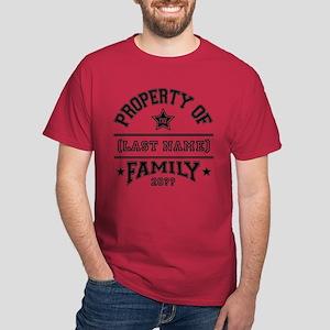 Family Property Dark T-Shirt
