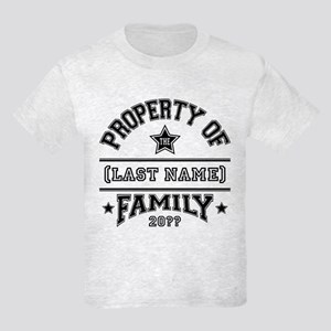 Family Property Kids Light T-Shirt