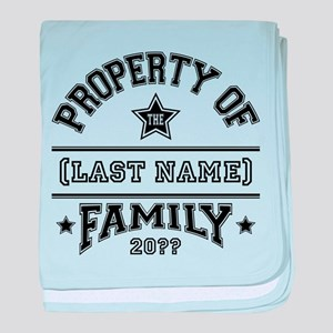 Family Property baby blanket
