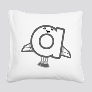 a Square Canvas Pillow