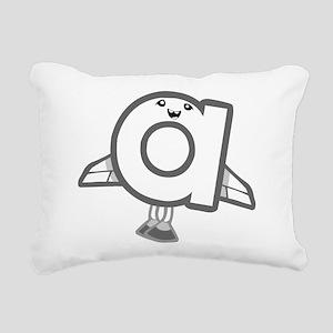 a Rectangular Canvas Pillow