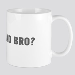 You mad bro-Akz gray Mugs