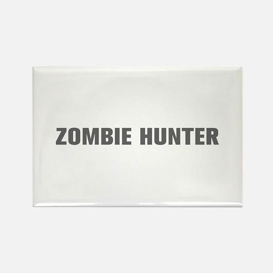 Zombie Hunter-Akz gray Magnets
