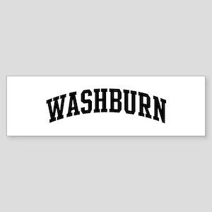WASHBURN (curve-black) Bumper Sticker