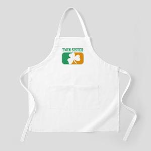 TWIN SISTER (Irish) BBQ Apron