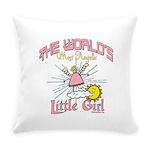 WorldsAngelicLittlegirl Everyday Pillow