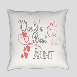 Hearts Aunt copy Everyday Pillow