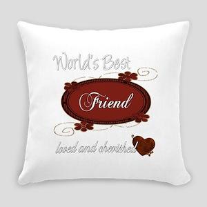 cherished friend copy Everyday Pillow