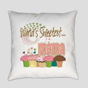 Sweetest mema copy Everyday Pillow