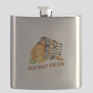 REAP WHAT YOU SOW Flask