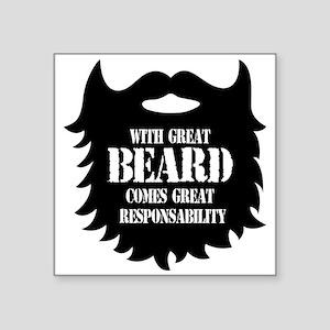 Great Beard - Great Responsability Sticker