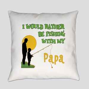 Fishing With Papa Everyday Pillow