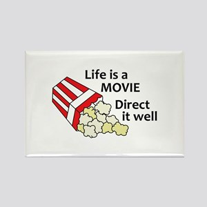 LIFE IS A MOVIE Magnets