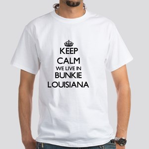 Keep calm we live in Bunkie Louisiana T-Shirt