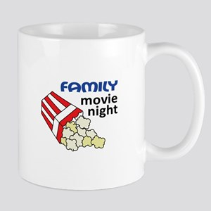 FAMILY MOVIE NIGHT Mugs
