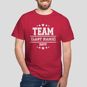 Team Family Dark T Shirt