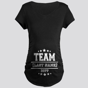 Team Family Maternity Dark T-Shirt