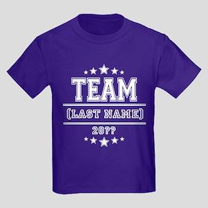 Team Family Kids Dark T-Shirt