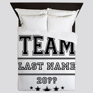 Team Family Queen Duvet