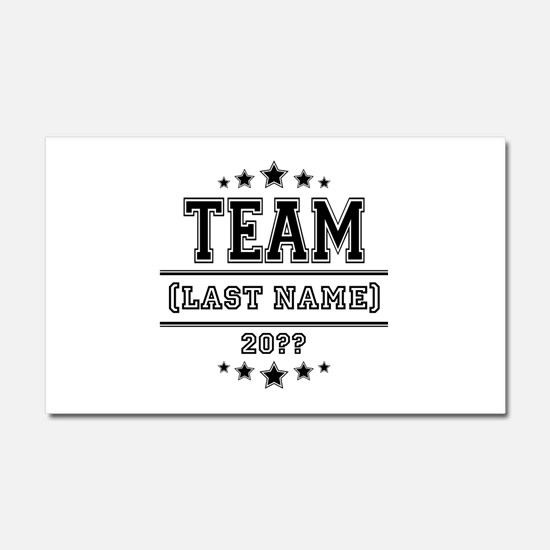 Team Family Car Magnet 20 x 12