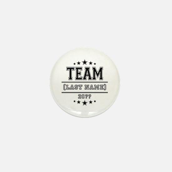Team Family Mini Button