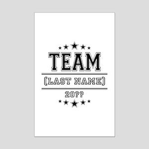 Team Family Mini Poster Print