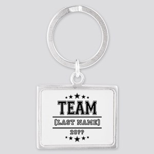 Team Family Landscape Keychain