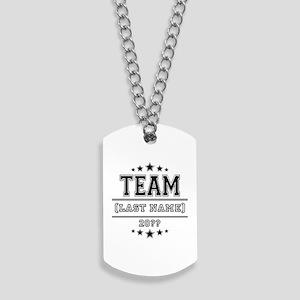 Team Family Dog Tags