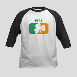 PAPA (Irish) Kids Baseball Jersey