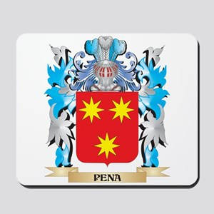 Pena Coat of Arms - Family Crest Mousepad