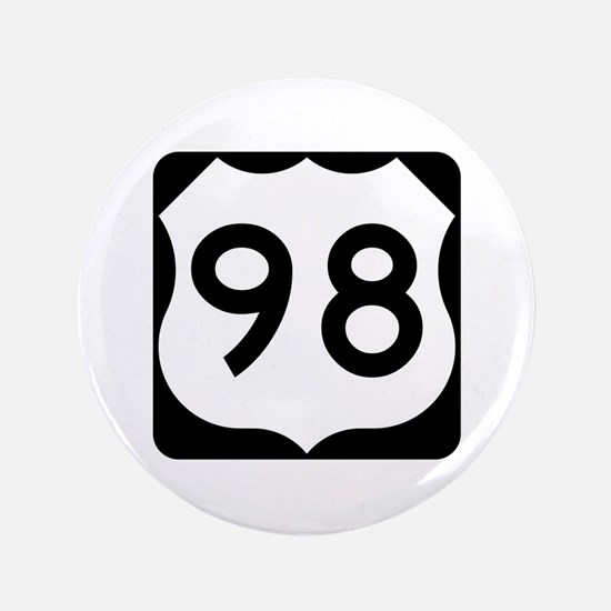 "US Route 98 3.5"" Button"