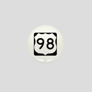 US Route 98 Mini Button
