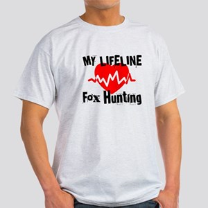 My Life Line Fox Hunting Light T-Shirt