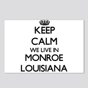 Keep calm we live in Monr Postcards (Package of 8)